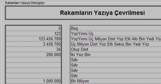 Excel takamı yazıya çevirmek