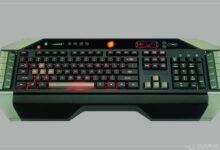 Oyunculara özel klavye