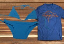 Tişörtten bikini yapımı