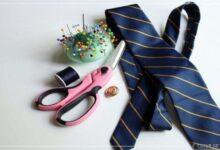 Kravattan kolye yapımı