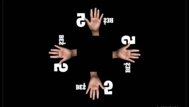 İşaret dili rakamlar