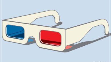 3D gözlük yapımı