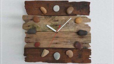 Ahşap saat tasarımları
