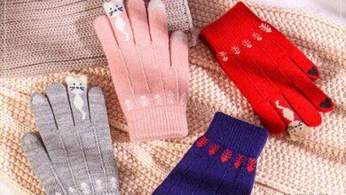 Bayanlar için eldiven tasarımları
