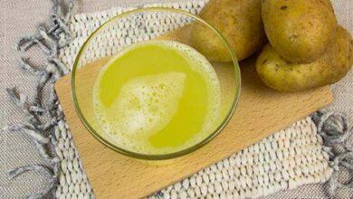 Patates suyunun yararları