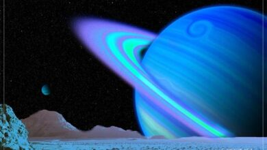 Satürn'ün etrafındaki halkalar