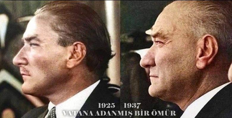 Büyük önder Atatürk. Az bilinen fotoğrafları