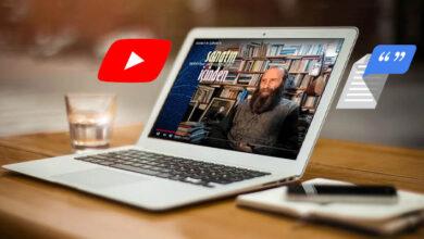 Yooutube video sesini yazıya çevirme